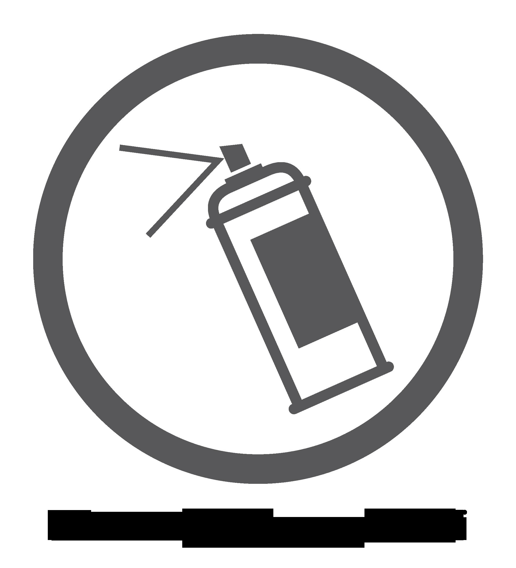 Logo van graffitibestendig oppervlak